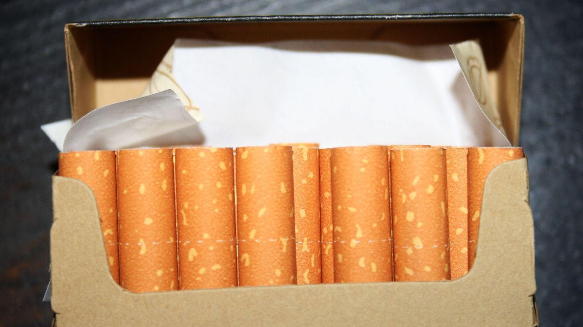 Сигареты, архивное фото - Sputnik Беларусь, 1920, 27.05.2021