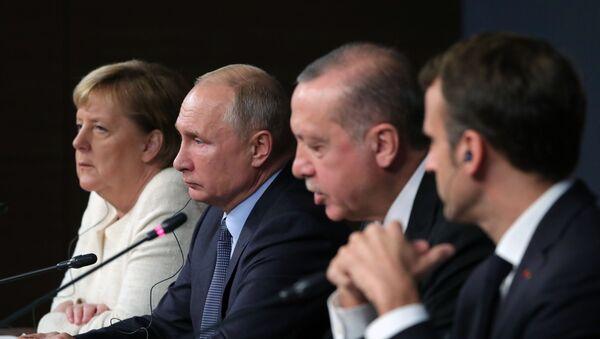Рабочий визит президента РФ В. Путина в Турцию - Sputnik Беларусь