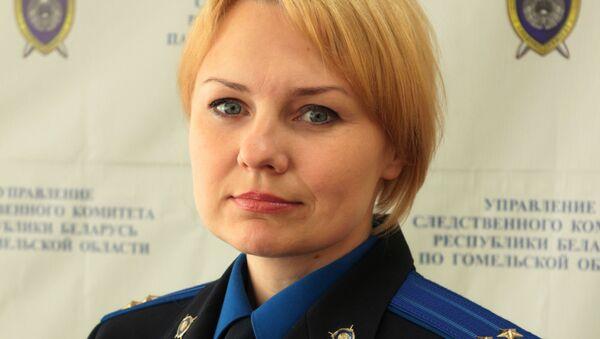 Официальный представитель УСК по Гомельской области Мария Кривоногова - Sputnik Беларусь