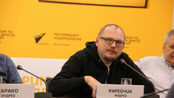 Андрэй Курэйчык - Sputnik Беларусь