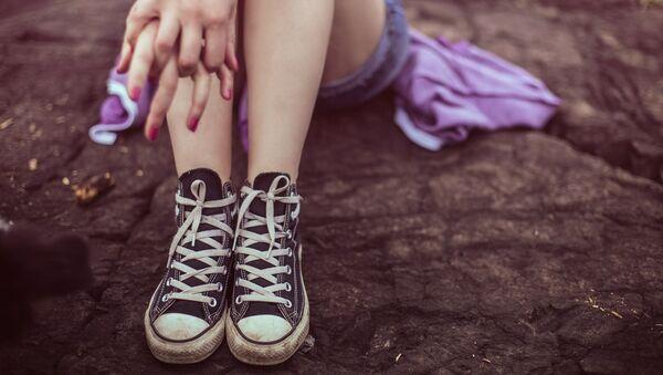 Девочка-подросток, архивное фото - Sputnik Беларусь