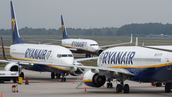 Самалёты Ryanair, архіўнае фота - Sputnik Беларусь