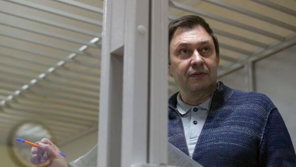 Журналіст Кірыл Вышынскі - Sputnik Беларусь