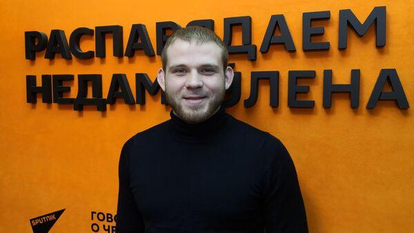 Исполнительный директор Белорусской федерации панкратиона и смешанных боевых единоборств Андрей Макаренко  - Sputnik Беларусь