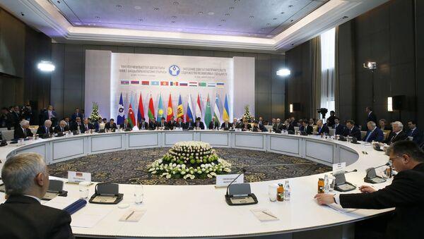 Заседание Совета глав правительств СНГ - Sputnik Беларусь