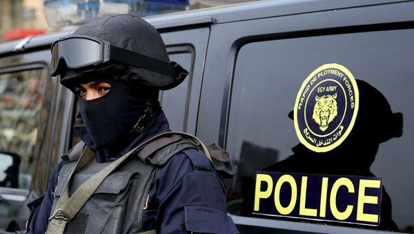 Египетский полицейский, архивное фото - Sputnik Беларусь