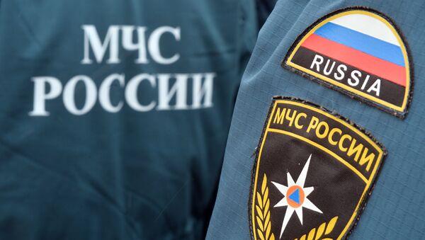 Нашивки сотрудников МЧС России - Sputnik Беларусь