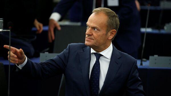 Президент Европейского Совета Дональд Туск  - Sputnik Беларусь
