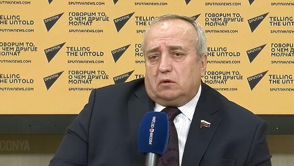 Заместитель председателя комитета ГД по обороне Франц Клинцевич на пленарном заседании Государственной Думы РФ - Sputnik Беларусь