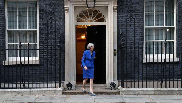 Премьер-министр Великобритании Тереза Мэй - Sputnik Беларусь