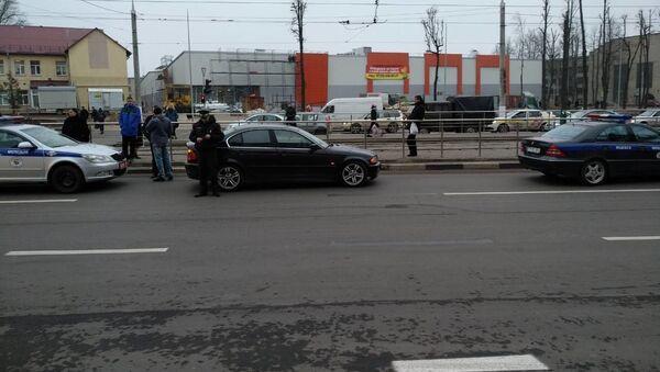 Место аварии в Витебске - Sputnik Беларусь