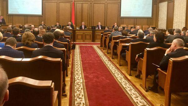 Заседание Палаты представителей Национального собрания Беларуси - Sputnik Беларусь