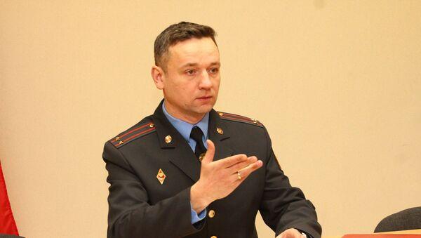 Официальный представитель УВД Брестского облисполкома Сергей Дученко - Sputnik Беларусь