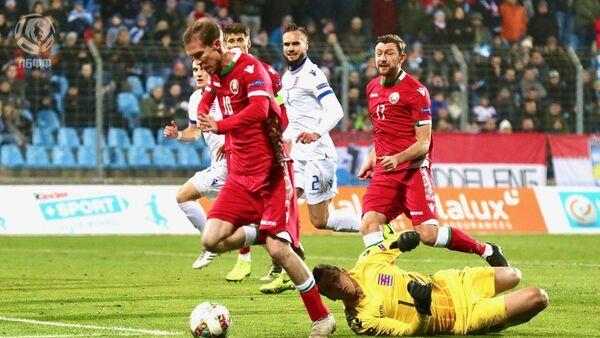Матч Лігі нацый УЕФА Люксембург - Беларусь - Sputnik Беларусь