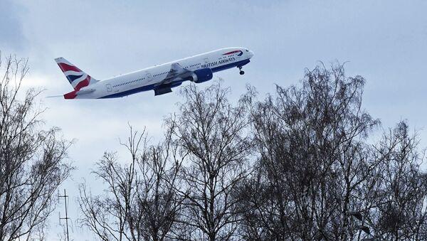 Самолет авиакомпании British Airways - Sputnik Беларусь