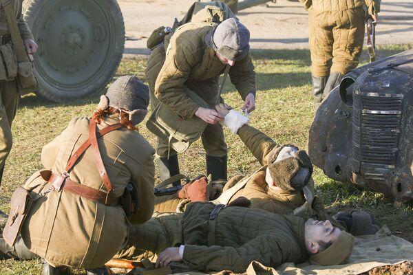 День артиллериста на Линии Сталина - Sputnik Беларусь