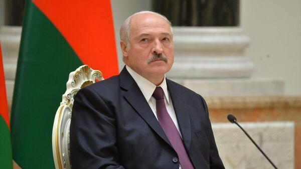 Александр Лукашенко в Минске - Sputnik Беларусь