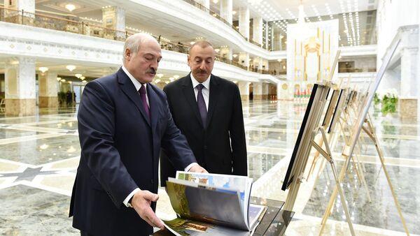 Александр Лукашенко и Ильхам Алиев - Sputnik Беларусь