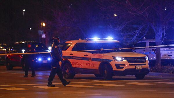 Полиция США в Чикаго - Sputnik Беларусь
