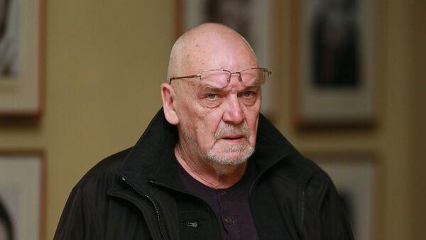 Режиссер Эймунтас Някрошюс перед началом спектакля Борис Годунов - Sputnik Беларусь