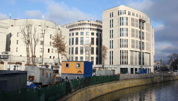 За прошедший год внешний вид здания экс-Кемпински почти не изменился - Sputnik Беларусь