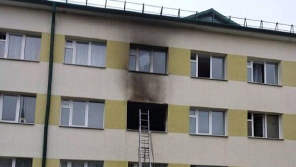 Пожар в Жабинке - Sputnik Беларусь