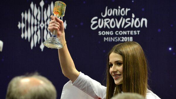 Победительница детского конкурса песни Евровидения Роксана Венгель - Sputnik Беларусь