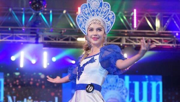 Дар'я Аляксандрава на конкурсе - Sputnik Беларусь