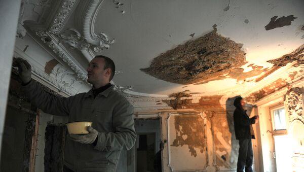 Реставрационные работы, архивное фото - Sputnik Беларусь