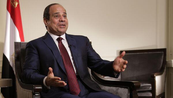 Президент Египта Абдель Фаттах аль-Сиси  - Sputnik Беларусь