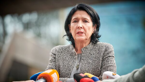 Кандидат в президенты Грузии Саломе Зурабишвили - Sputnik Беларусь