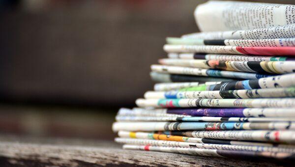 Газеты, архивное фото - Sputnik Беларусь