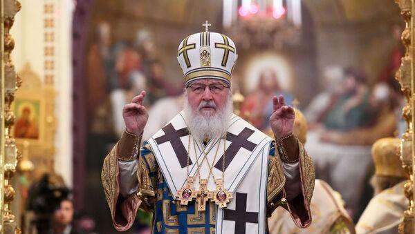 Божественная литургия в Кафедральном Соборном Храме Христа Спасителя - Sputnik Беларусь