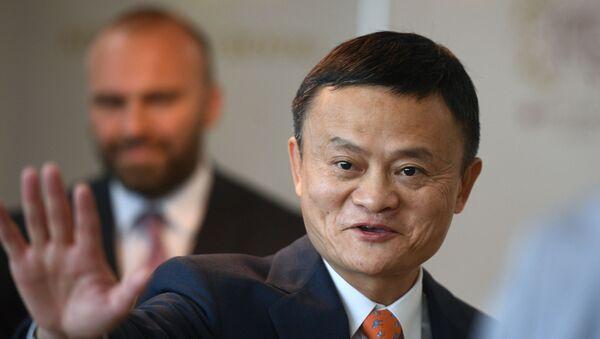 Китайский миллиардер Джек Ма  - Sputnik Беларусь