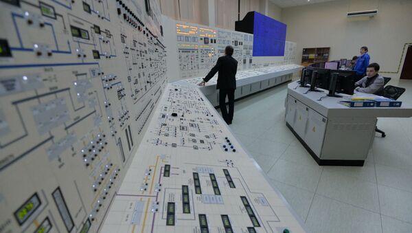 Управление на БелАЭС ведется с помощью компьютеров - Sputnik Беларусь