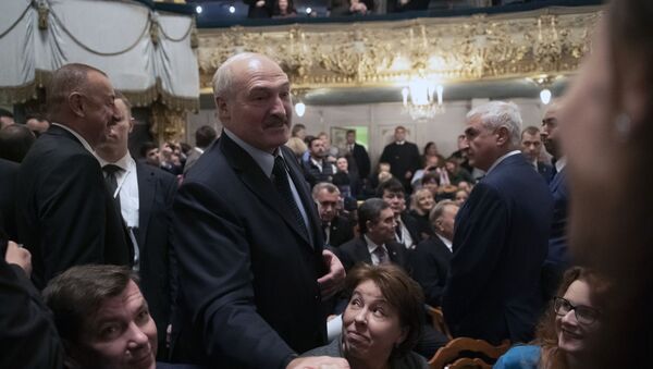 Александр Лукашенко в Мариинском театре - Sputnik Беларусь