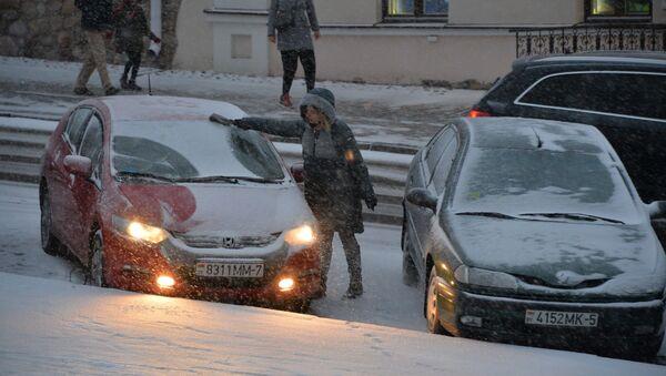 Моцны вецер і мокры снег: надвор'е на 14 студзеня - Sputnik Беларусь
