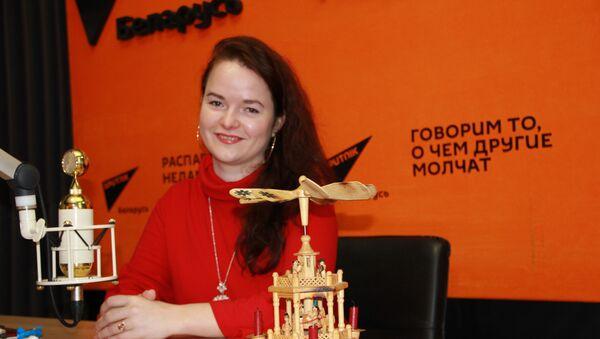 Павлова: Колядой белорусы выбирали самую красивую девушку - Sputnik Беларусь