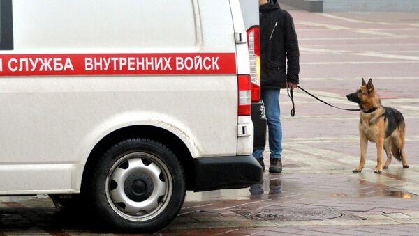 Аўтамабіль сапёрна-піратэхнічнай групы ўнутраных войск - Sputnik Беларусь