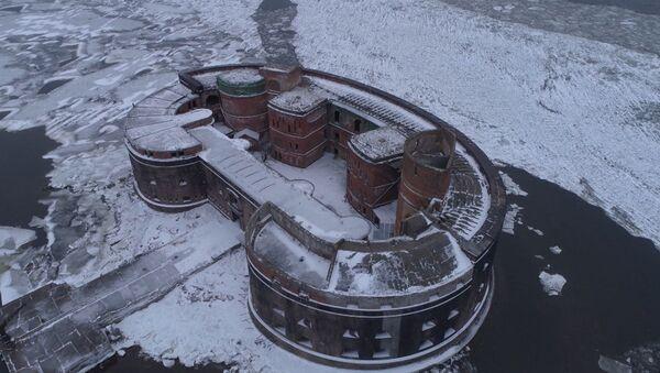 Форт Император Александр I с высоты птичьего полета - Sputnik Беларусь