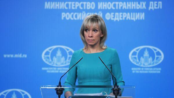 Брифинг официального представителя МИД России Марии Захаровой - Sputnik Беларусь