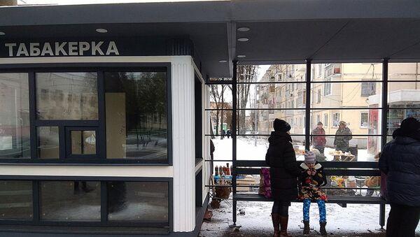 Табакерки в Витебске установлены на многих остановках - Sputnik Беларусь