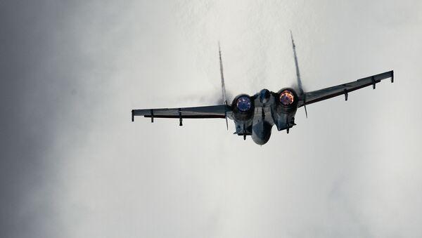 Самолет Су-27, архивное фото - Sputnik Беларусь
