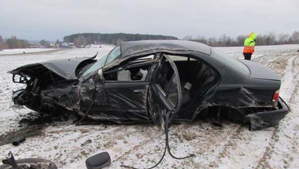 В Борисовском районе в ДТП погиб 33-летний пассажир BMW - Sputnik Беларусь