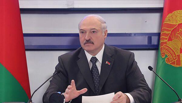 Александр Лукашенко на совещании о развитии летних видов спорта - Sputnik Беларусь