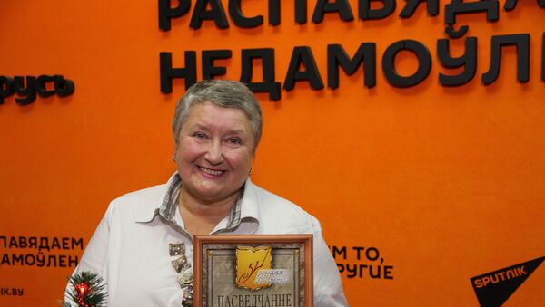 Вятская о звании заслуженного журналиста РБ: вся жизнь ― в профессии - Sputnik Беларусь