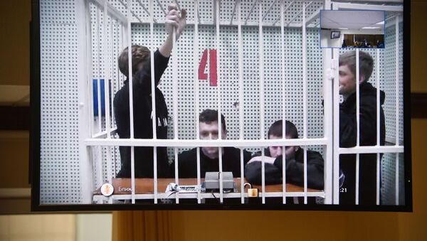 Рассмотрение апелляции на арест П. Мамаева и А. Кокорина - Sputnik Беларусь
