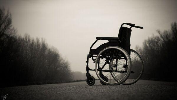 Инвалидная коляска, архивное фото - Sputnik Беларусь
