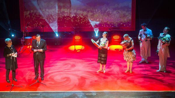 Цырымонія ўручэння Нацыянальнай тэатральнай прэміі ў 2018 годзе - Sputnik Беларусь