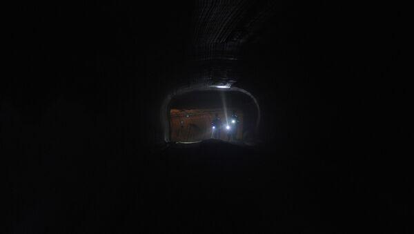 Горняки в шахте, архивное фото - Sputnik Беларусь